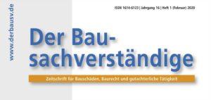 Cover Der Bausachverstaendige_Ausschnitt